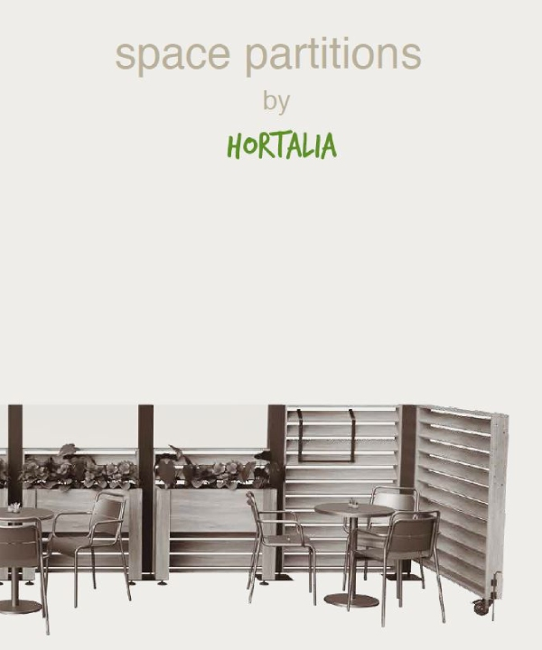 catalogo space partitions